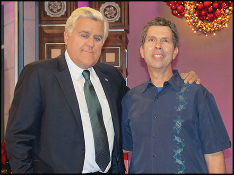 Jay Leno and Dan Holzman
